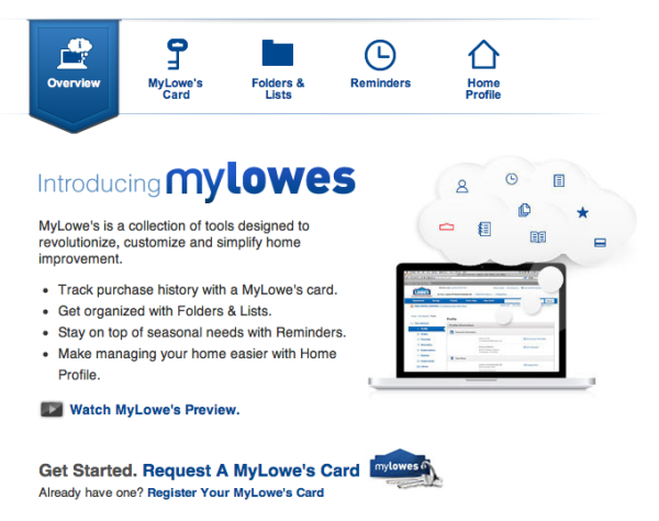 My Lowe's Internet Retailer Customer Engagement