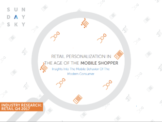 Retail Personalization Mobile App Report Cover